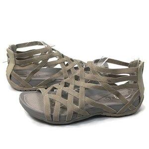 Baretraps Samina Gladiator Elastic Strappy Sandals